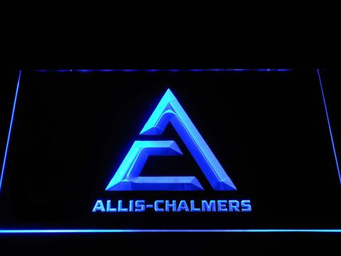 Allis-Chalmers Triangle Logo LED Neon Sign